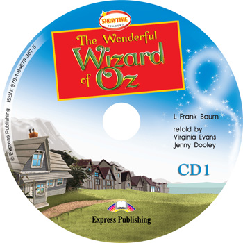 Showtime Readers Level 2 The Wonderful Wizard of Oz Audio CDs (set of 2)