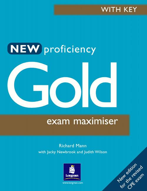 New Proficiency Gold Maximiser with Key
