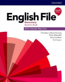 English File Fourth Edition Elementary Student's Book with Online Practice