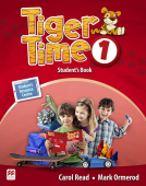 Tiger Time 1 Student's Book + eBook