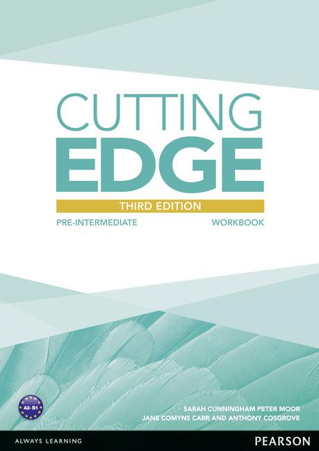 Cutting Edge 3rd Edition Pre-Intermediate Workbook without Key