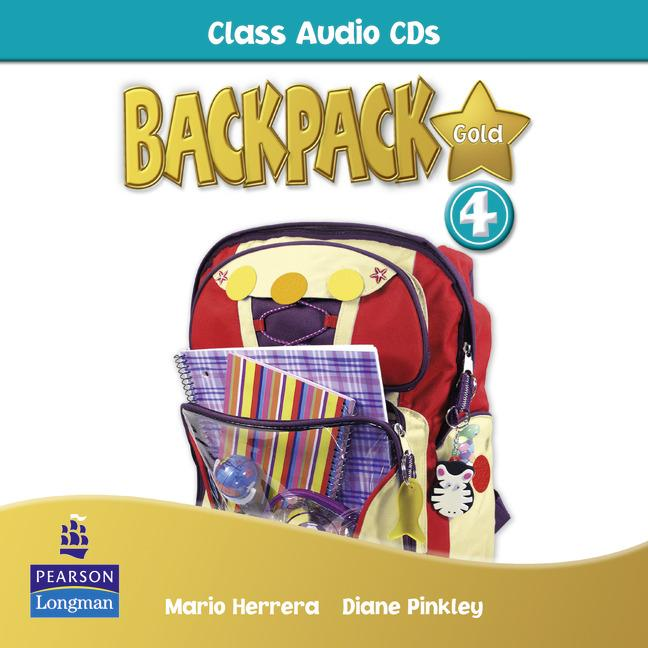 Backpack Gold Level 4 Class Audio CD