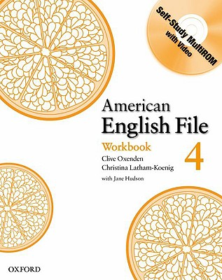 American English File 4 Workbook with MultiROM
