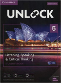 Unlock 2nd edition 5 Listening, Speaking & Critical Thinking Student's Book, Mob App and Online Workbook