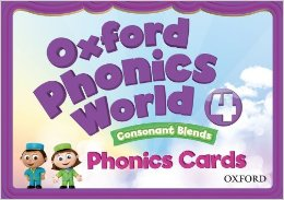 Oxford Phonics World 4 Phonics Cards