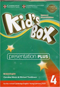Kid's Box Updated edition 4 Presentation Plus DVD-ROM