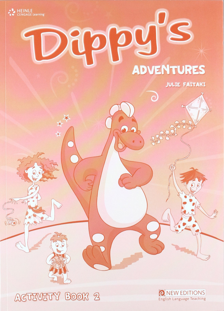 Dippy's Adventures 2 Activity Book