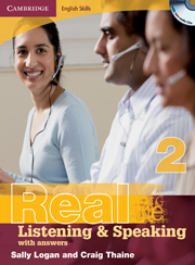 Cambridge English Skills: Real Listening & Speaking Level 2 Book with answers and Audio CDs