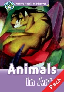 Oxford Read and Discover Level 4 Animals in Art Audio CD Pack