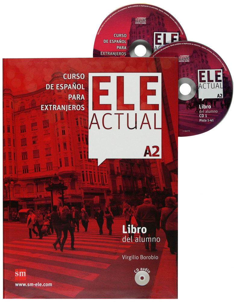 Ele Actual A2 Libro del alumno + CD audio (2)