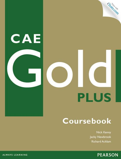 CAE Gold Plus Coursebook with Access Code, CD-ROM