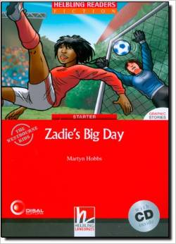 Red Series  Graphic Fiction Level 1: Zadie's Big Day + CD