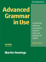 Advanced Grammar in Use 2nd Edition Book with answers