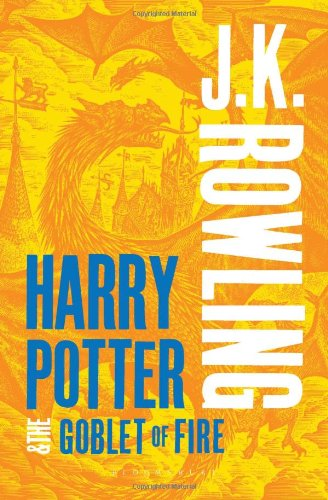 Harry Potter and the Goblet of Fire (Book 4) - Adult Cover