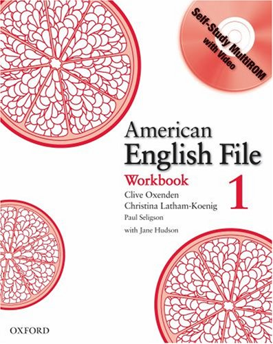American English File 1 Workbook with MultiROM