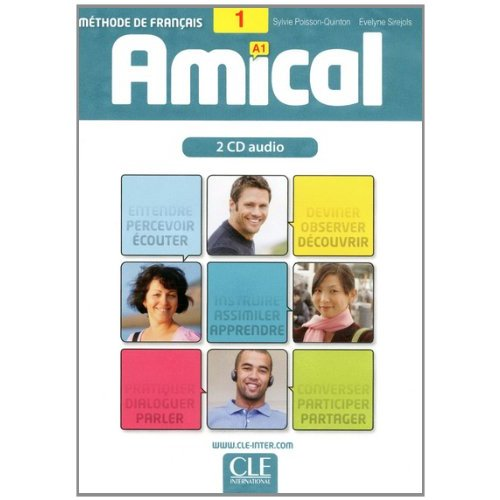 Amical - Niveau 1 - A1 - CD audio