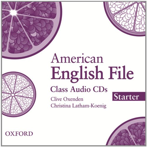 American English File Starter Class Audio CDs (3)
