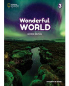 Wonderful World 2nd edition 3 Lesson Planner + Class Audio CD + DVD +TRCD
