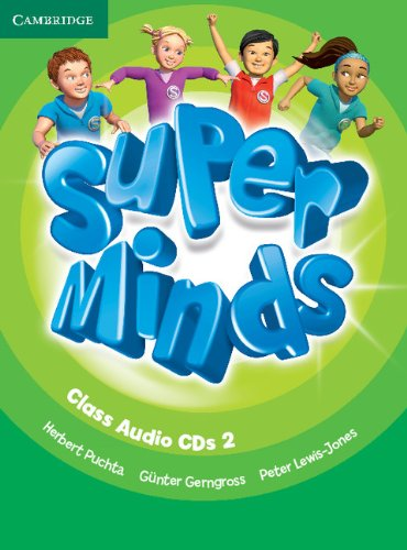 Super Minds Level 2 Class Audio CDs (3) (Лицензия)