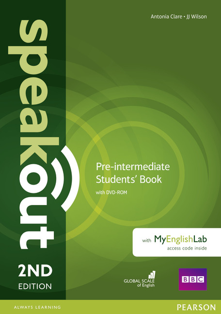 Speakout Second Edition Pre-Intermediate Students' Book with DVD & MyEnglishLab