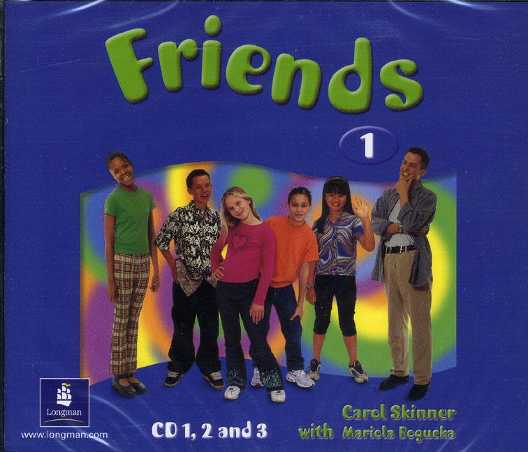 Friends 1 Class Audio CD (3) (Лицензия)