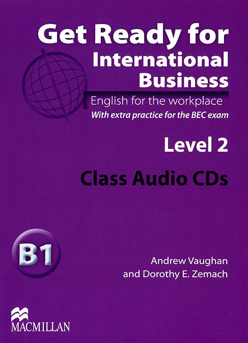 Get Ready for International Business Level 2  Class Audio CDs (BEC)