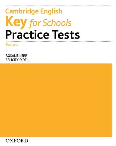 Cambridge English Key For Schools Practice Tests Workbook without Key