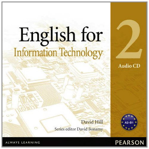 Vocational English Level 2 (Pre-intermediate) English for IT Audio CD