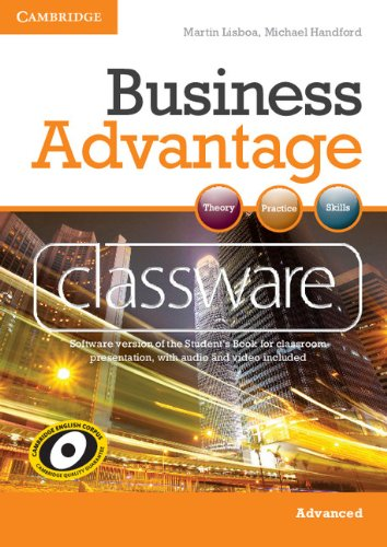 Business Advantage Advanced Classware DVD-ROM