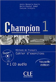 Champion 1 Cahier d'exercices + CD audio