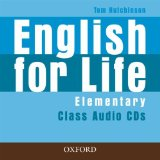 English for Life Elementary Class Audio CDs (3)