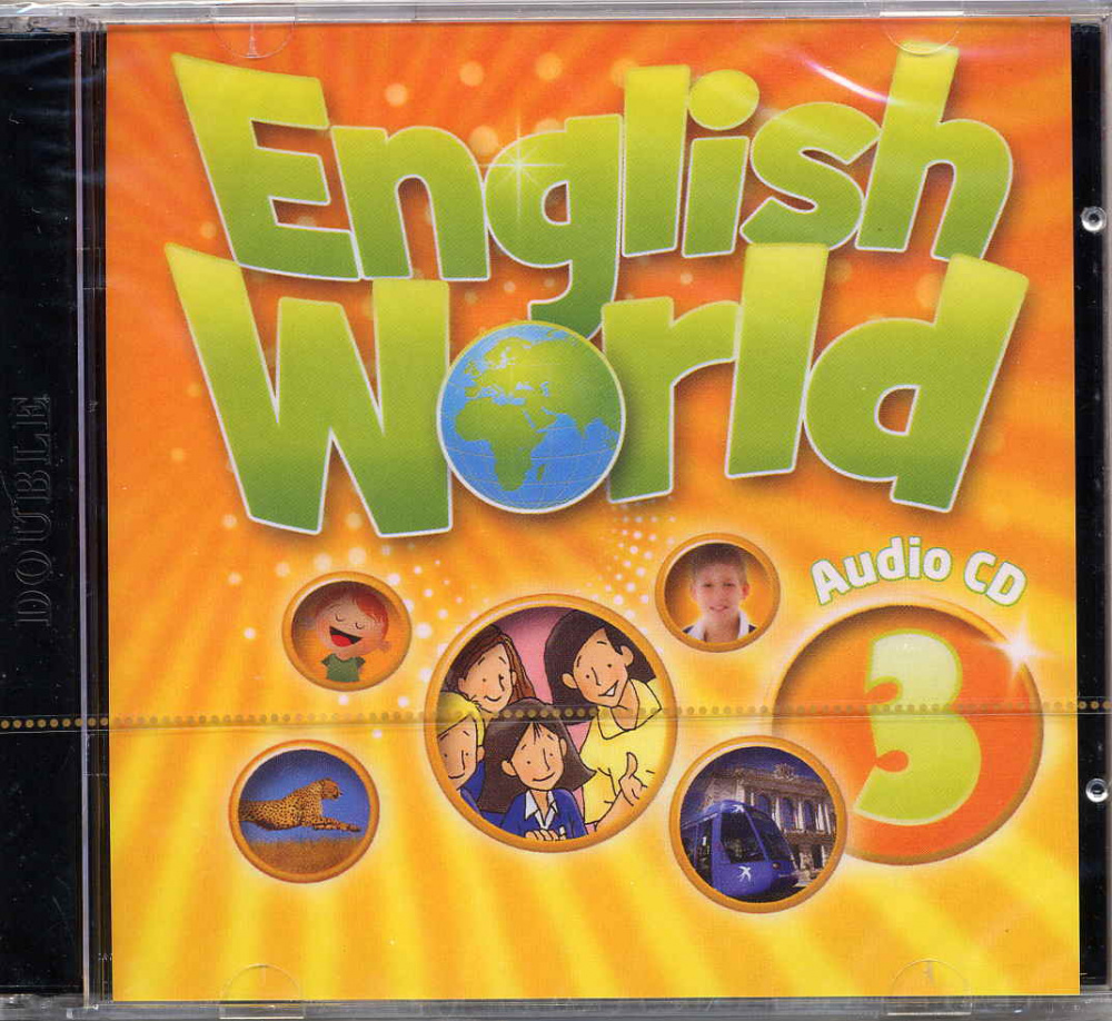 English World 3 Audio CDs (2) (Лицензия)