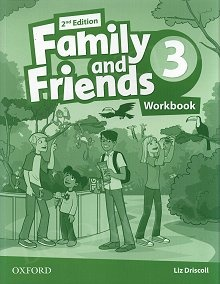 Family and Friends Second Edition 3 Workbook