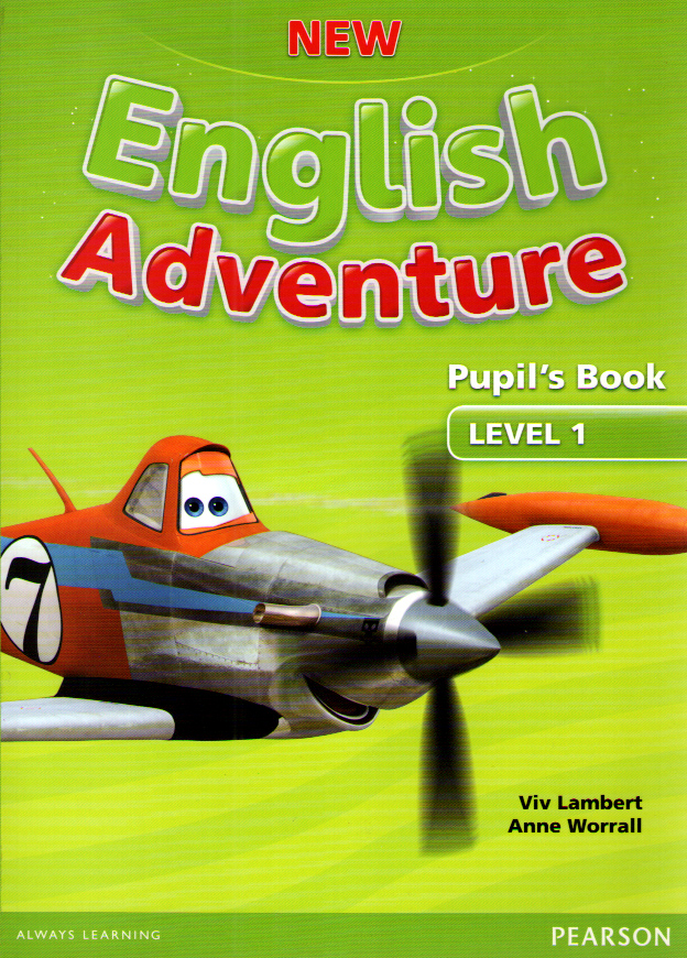 New English Adventure 1 Pupil's Book and DVD Pack