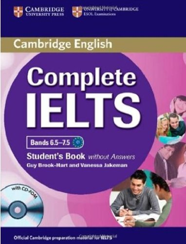 Complete IELTS Bands 6.5-7.5 Student's Book without answers with CD-ROM