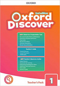 Oxford Discover Second edition 1: Teacher's Book Pack (Teacher's Guide, CPT and Teacher Resource Center)