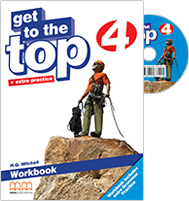 Get to the Top 4 Workbook + Grammar Practice with Student's audio CD/CD-Rom