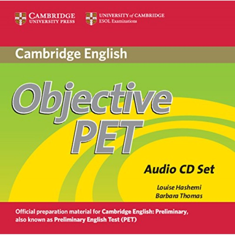 Objective PET 2nd Edition Audio CDs (3) (Лицензия)