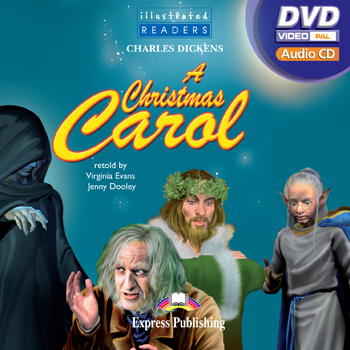 Illustrated Readers Level 4  A Christmas Carol (Audio CD / DVD Video PAL)