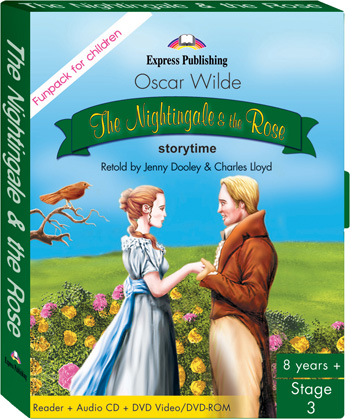 Stage 3 - The Nightingale & the Rose. FunPack. (Pupil's Book, Audio CD , DVD Video/DVD-ROM PAL)
