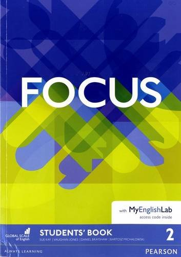 Focus 2 Student's Book & MyEnglishLab Pack