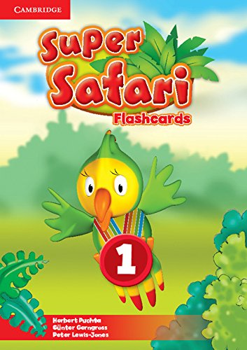 Super Safari 1 Flashcards (Pack of 40)