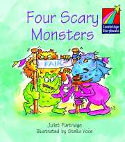 Cambridge Storybooks Level 1 Four Scary Monsters