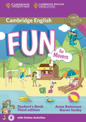 Fun for Movers 3rd Edition Student's Book with Online Activities