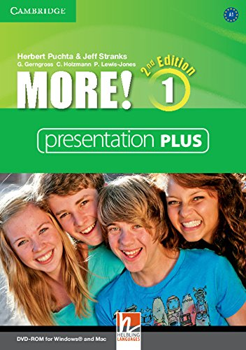 More! Second Edition 1 Interactive Classroom DVD-ROM