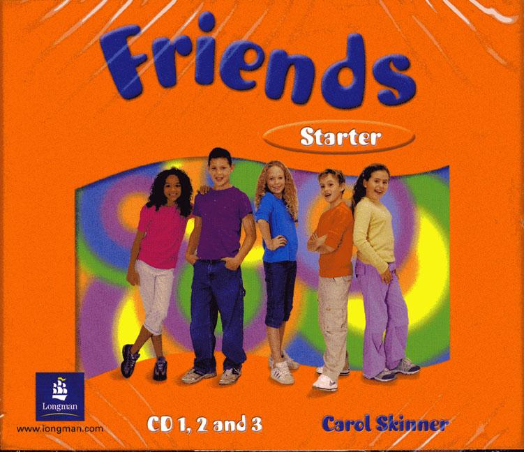 Friends Starter Class Audio CD (3) (Лицензия)