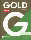 Gold New Edition B2 2018 First Student's Book with MyEnglishLab