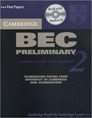 Cambridge BEC Preliminary 2 Self Study Pack: Examination papers from University of Cambridge ESOL Examinations
