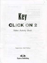 Click On 2 Video Activity Book Key