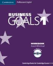 Business Goals 1 Workbook and Audio CD
